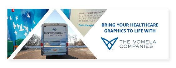 Healthcare banner encouraging you to bring your graphics to life