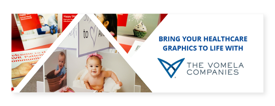 Healthcare Educating Patients with Print Graphics CTA